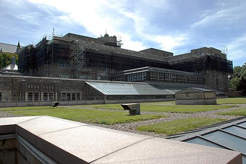 Firestone Library, Princeton University, NJ, superior scaffold, 215 743-2200, scaffolding, scaffold, equipment, rent, USA