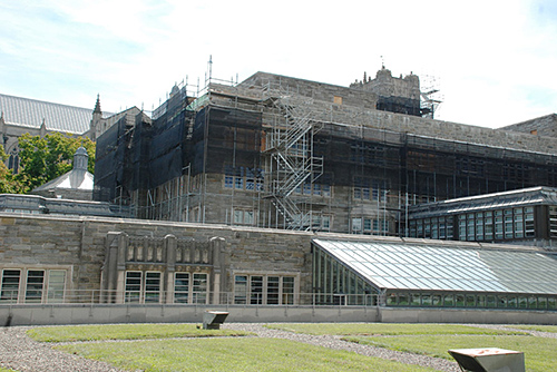 Firestone Library, Princeton University, NJ, superior scaffold, 215 743-2200, scaffolding, scaffold rent, USA