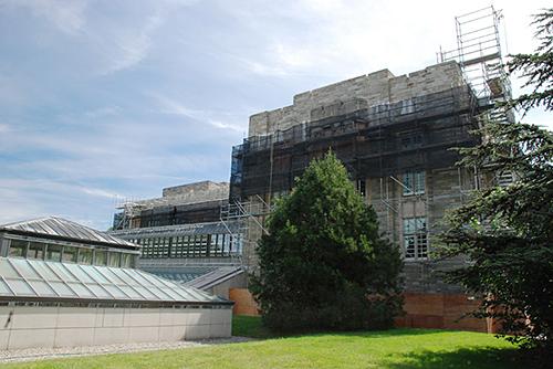 Firestone Library, Princeton University, NJ, superior scaffold, 215 743-2200, scaffolding, scaffold rental, USA