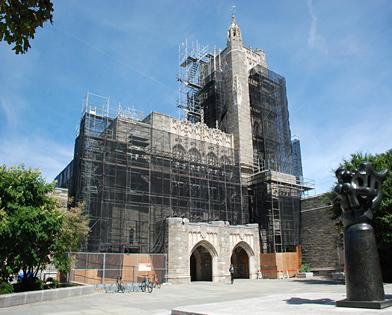 Firestone Library, Princeton University, NJ, superior scaffold, 215 743-2200, scaffolding, scaffold, rents, USA