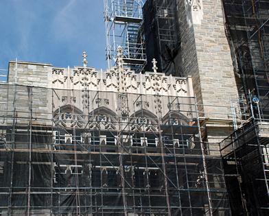 Firestone Library, Princeton University, NJ, superior scaffold, 215 743-2200, scaffolding, scaffold, equipment, rental, USA