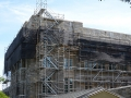 Firestone Library, Princeton University, NJ, superior scaffold, 215 743-2200, scaffolding, netting, scaffold rental, USA