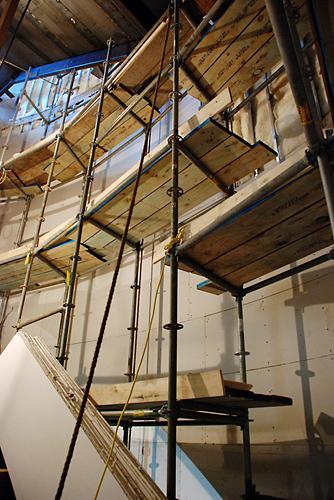 pRevel Casino, Atlantic City, Staircase, scaffold, scaffolding, Superior Scaffold, 215 743-2200
