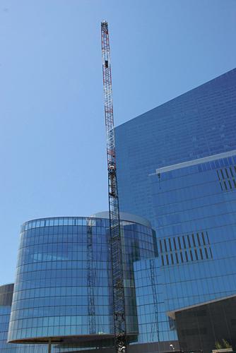 Revel Casino, Atlantic City, material crane, scaffold, scaffolding, Superior Scaffold, 215 743-2200