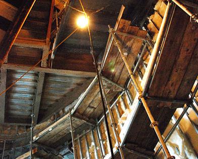 Revel Casino, Atlantic City, curve, scaffold, scaffolding, Superior Scaffold, 215 743-2200