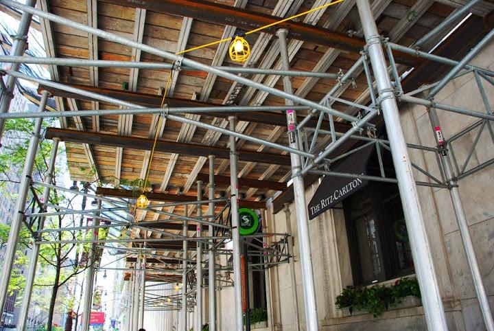 Ritz carllton, custom design, Superior Scaffold, overhead protection, canopy, 215 743-2200, 76