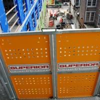 transport platform, personnel, hoist, elevator work, lift, buckhoist, superior scaffold, scaffolding, rental, rent, rents, pa, philly, philadelphia, new jersey, 703