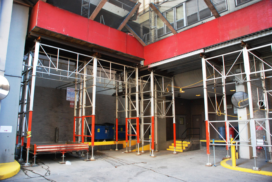 debris netting, scaffold rental, scaffolding rental, rentals, mast climber, pa, de, nj, md, superior scaffold