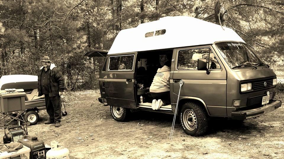 scaffold rental, camping, vanagon, VW, suspended, scaffolding rental