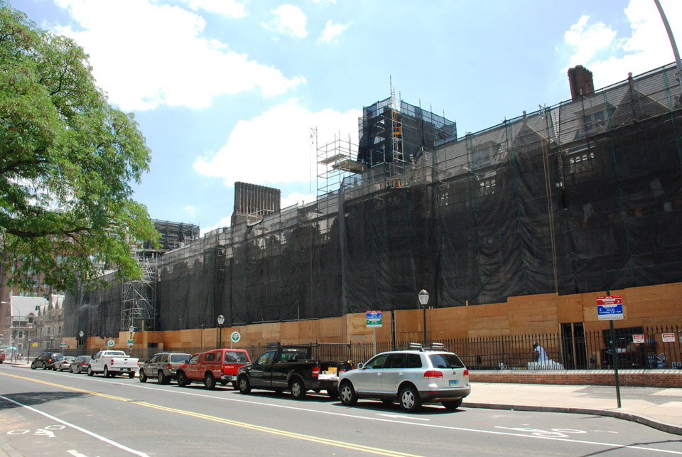 University of Pennsylvania, Scaffold, containment wrap, Superior Scaffold, 215 743-2200