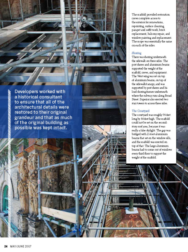 scaffolding, scaffold, magazine, article, news, abc, cbs, nbc, cnn, rental, rent, rents, 215 743-2200, scaffolding rentals, construction, ladders, equipment rental, swings, swing staging, stages, suspended, shoring, mast climber, work platforms, hoist, hoists, subcontractor, GC, scaffolding Philadelphia, scaffold PA, phila, overhead protection, canopy, sidewalk, shed, building materials, NJ, DE, MD, NY, , renting, leasing, inspection, general contractor, masonry, superior scaffold, electrical, HVAC, USA, national, mast climber, safety, contractor, best, top, top 10, sub contractor, electrical, electric, trash chute, debris, chutes