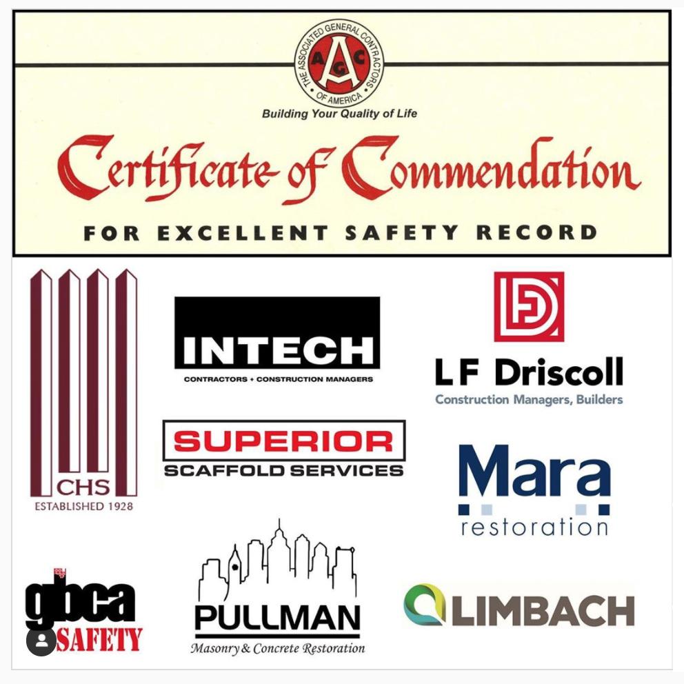 agc safety award, safety, scaffold, scaffolding