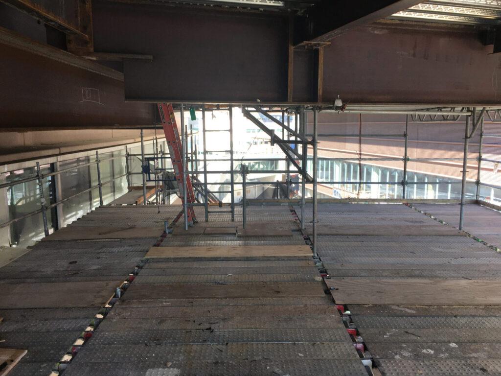 superior scaffold, penn medicine, bridges, iron, steel, access